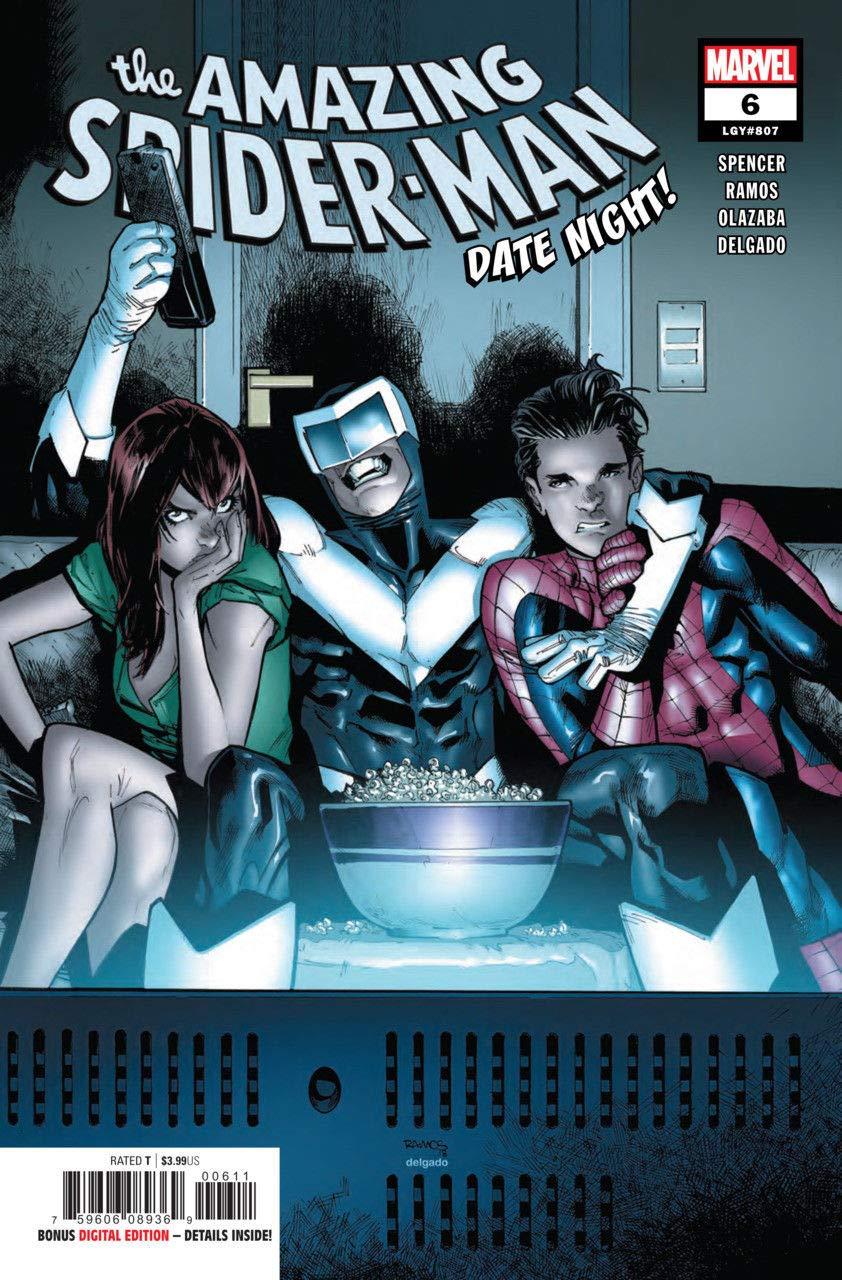 Amazing Spider-man (2018) #6 (#807) VF/NM Humberto Ramos Cover