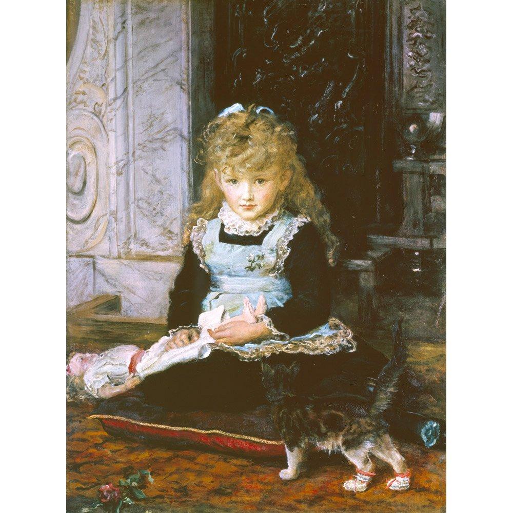 Puss in Stiefel, John Everett Millais - Medici Drucken