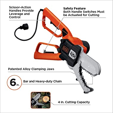 Features & Benefits of the Black and Decker Alligator Lopper LP1000
