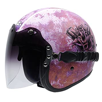 NZI 050324G880 Rolling Duo Graphics Fast Lady Casco De Moto, Multicolor, Talla 58-