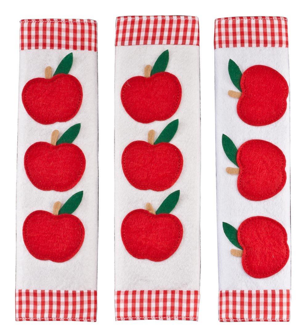 Miles Kimball Apple Appliance Handle Covers, Set of 3