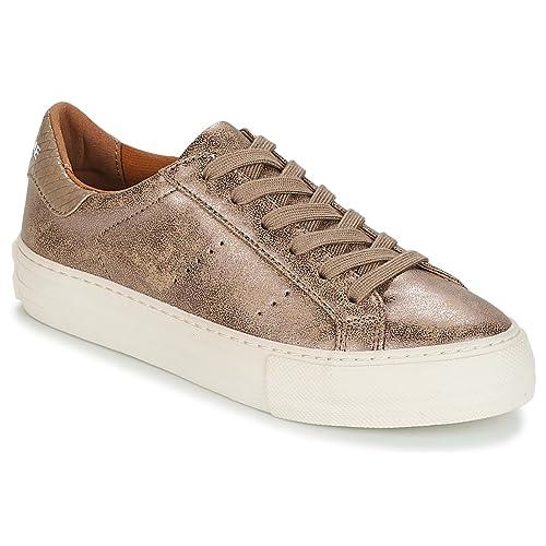 NO Name Arcade Sneaker Zapatillas Moda Mujeres Beige - 36 - Zapatillas Bajas: Amazon.es: Zapatos y complementos