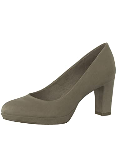 Tamaris 1 22420 21 324 Damen Pepper Grau High Heel Pumps mit