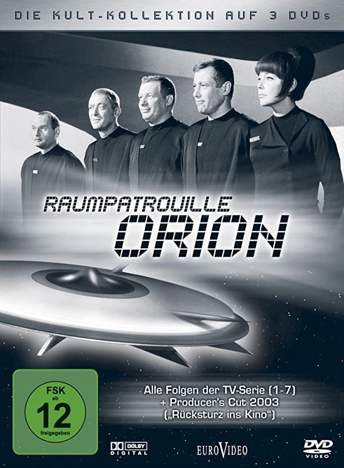 Raumpatrouille Orion - Kult-Kollektion [Alemania] [DVD]