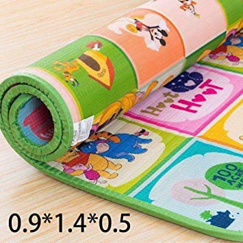 Large 2 Side Play Mat Kids Baby Educational Puzzle Soft Foam Picnic Carpet Crawl