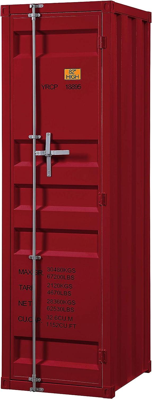 ACME Cargo Wardrobe (Single Door) - - Red