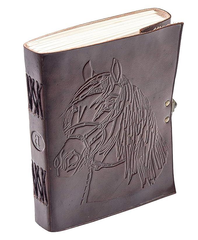 Amazon.com: Cubierta para libro de cuero con gran á ...