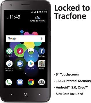 TracFone ZTE Blade T2 Lite 4G LTE prepago Smartphone: Amazon.es ...