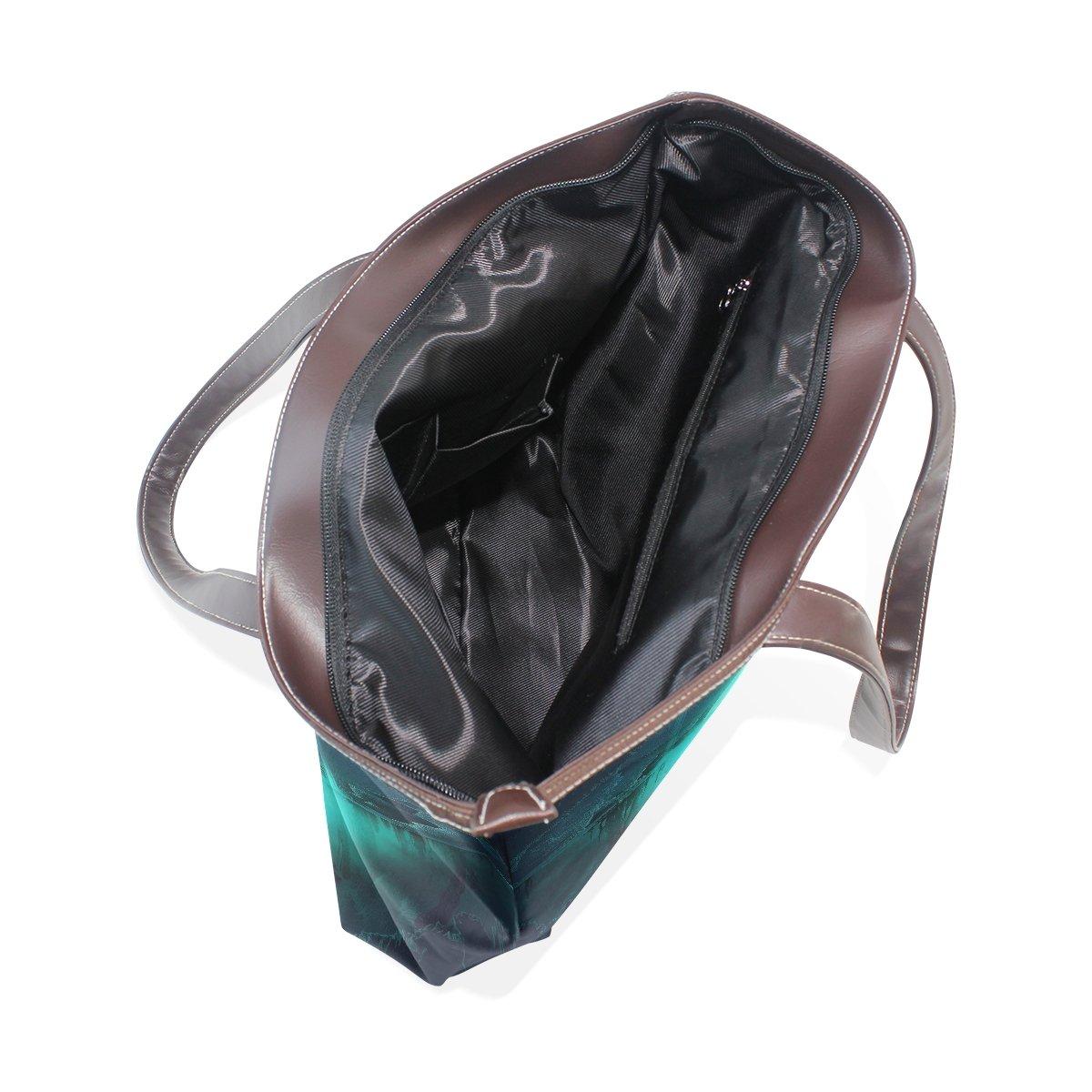 Mr.Weng Household Moonlight Quiet Good Lady Handbag Tote Bag Zipper Shoulder Bag
