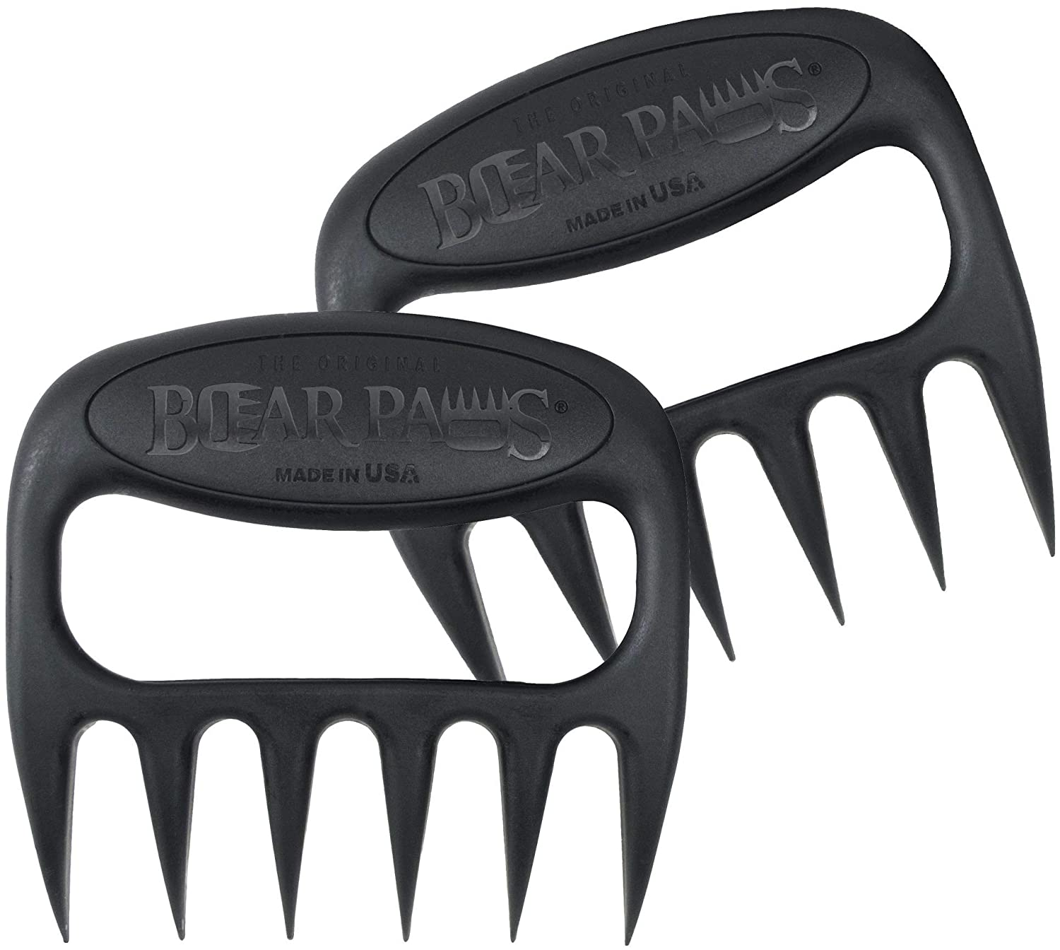 The Original Bear Paws Shredder Claws - Easily Lift, Handle, Shred, and Cut Meats - Essential for BBQ Pros - Ultra-Sharp Blades and Heat Resistant Nylon 71YiY3-rv-L