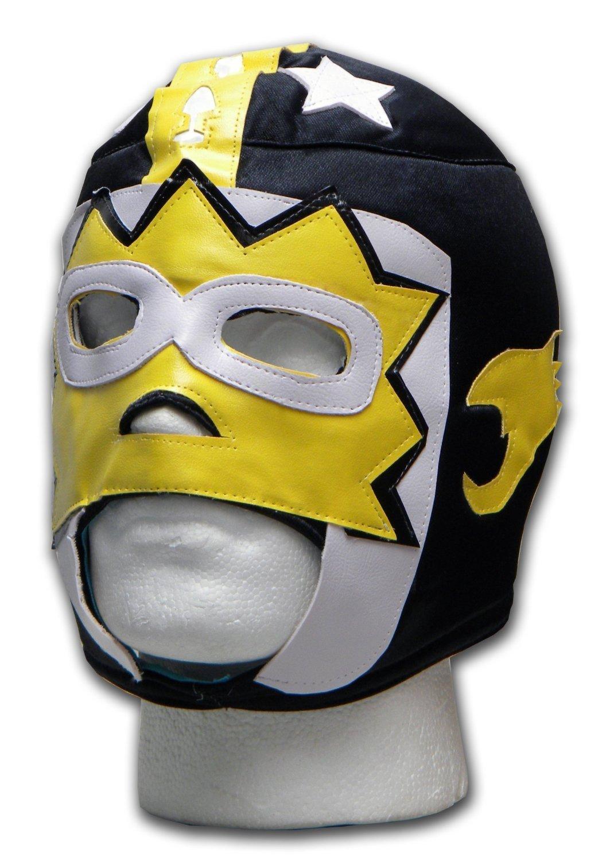 WRESTLING MASKS UK Men's Bala Hombre Mexican Wrestling Tie Up Mask One Size Multicoloured
