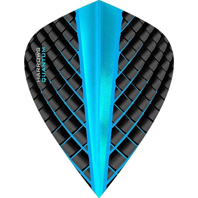 Harrows Darts Flights Quantum Aqua Standard