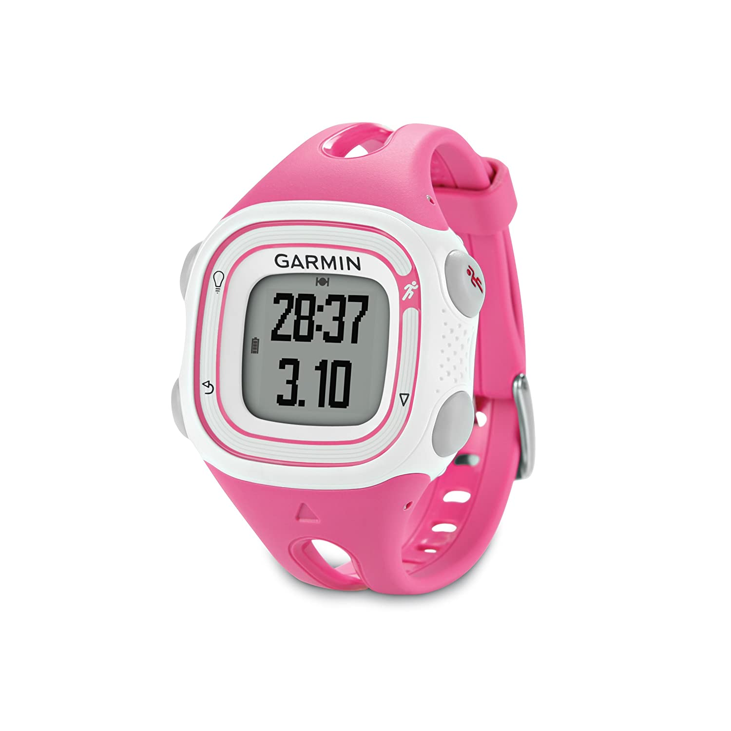 Garmin Forerunner 10 GPS Watch Pink White