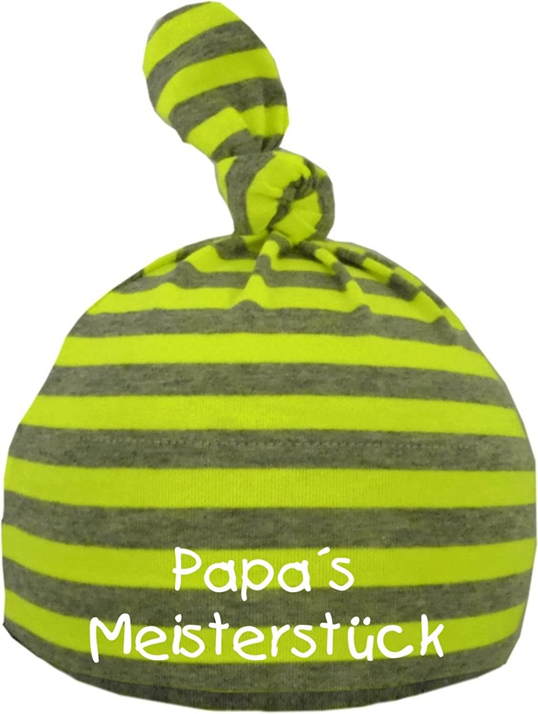 Baby Gorro con estampado Papas Meisterstück/EN 9colores