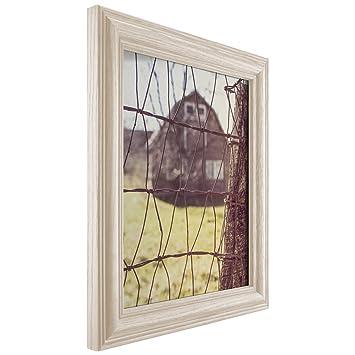 Amazon Craig Frames Wiltshire 440 Off White Hardwood Picture