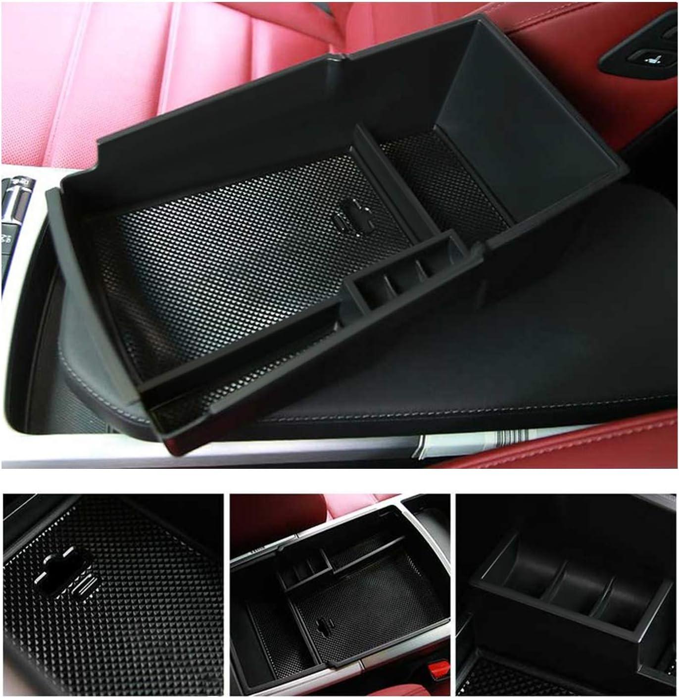 LFOTPP Stinger Mittelkonsole Aufbewahrungsbox Tray Storage Box accesorios Armlehne Organizer Mittelarmlehne guantera