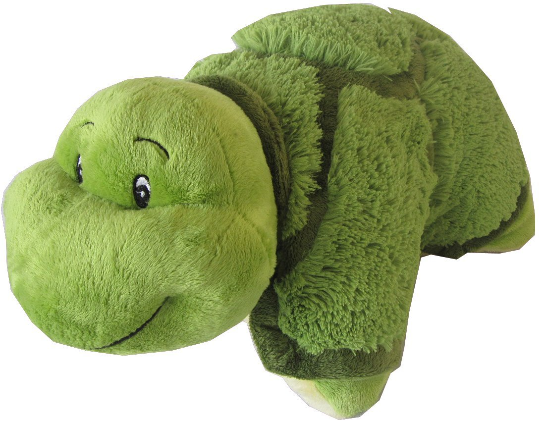 Amazon Com Turtle Zoopurr Pets 19 Large 2 In 1 Stuffed Animal And