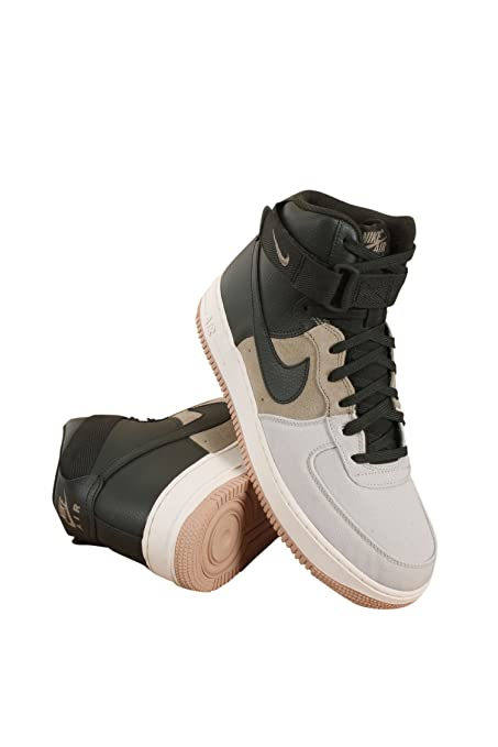 sports shoes 2bec9 204cc Buy 806403-008 Men AIR Force 1 HIGH   07 LV8 NIKE Light Bone Sequoia Khaki  SAIL Online at Low Prices in India - Amazon.in