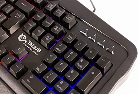 Talius Gaming Kit V.2 (Teclado + Raton + Auriculares + Alfombrilla) Black