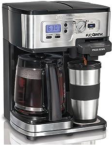 Hamilton 49984S Beach 2-Way FlexBrew Coffeemaker