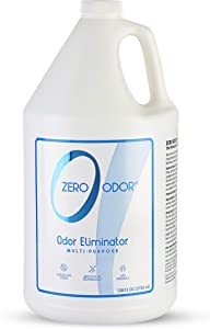 Zero Odor Multi-Purpose Household Odor Eliminator - Air Freshener - Deodorizer & Odor Absorber – Refill (128 Ounces)
