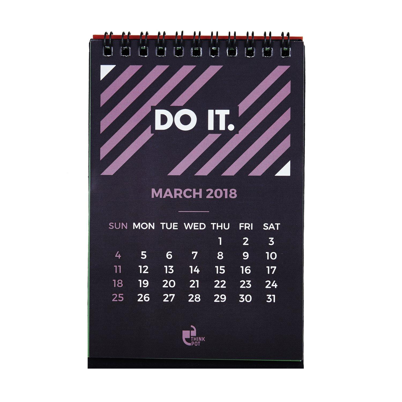 Thinkpot 2018 Do It Compact Motivational Calendar - 6