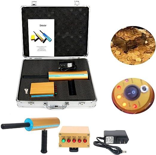 YaeCCC AKS Detector de Metal Dorado de Largo Rango de búsqueda AKS ...