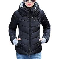 Sandbank Women's Winter Parka Jacket Warm Stand Collar Cotton Quilted Down Coat