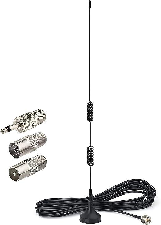 Bingfu Dab Fm Radio Antenna With Magnetic Base 3m Elektronik