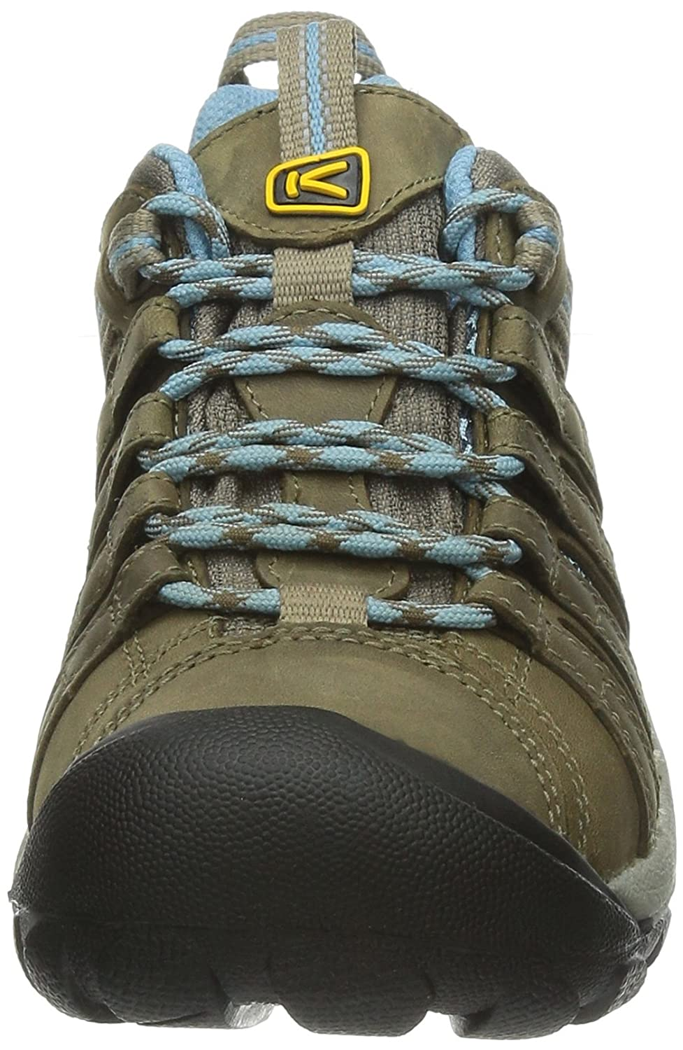 KEEN Women's Voyageur Hiking Shoe B00HGAGBNW 8.5 B(M) US|Brindle/Alaskan Blue