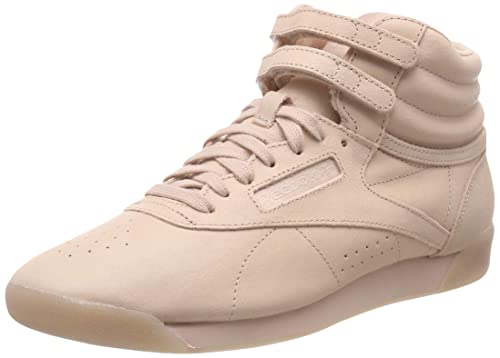 Reebok Women s Freestyle Hi-Top Trainers  Amazon.co.uk  Shoes   Bags a6bb38b62