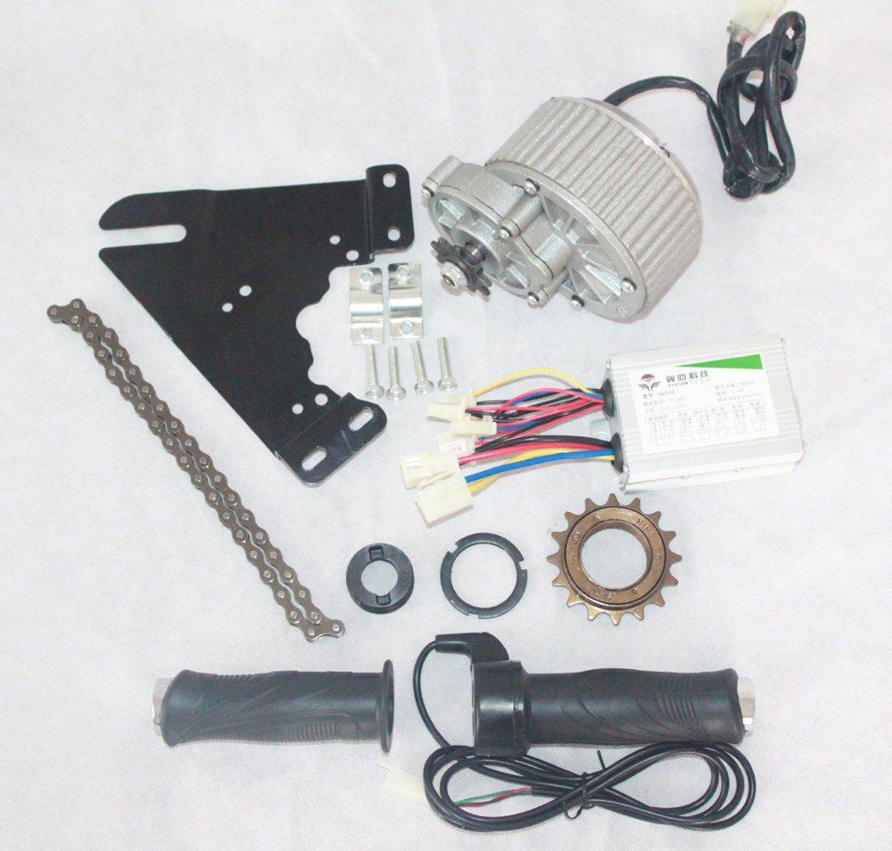 24v36v 450ワット電動自転車変換キット電動自転車モーターキットdiy e-スクーターモーターキット電動車両変更セット [並行輸入品] B077QCDWV7 24V450W