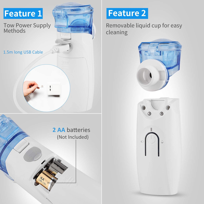 Handheld Mini Vaporiz-er for Adults Kids Home Travel Use