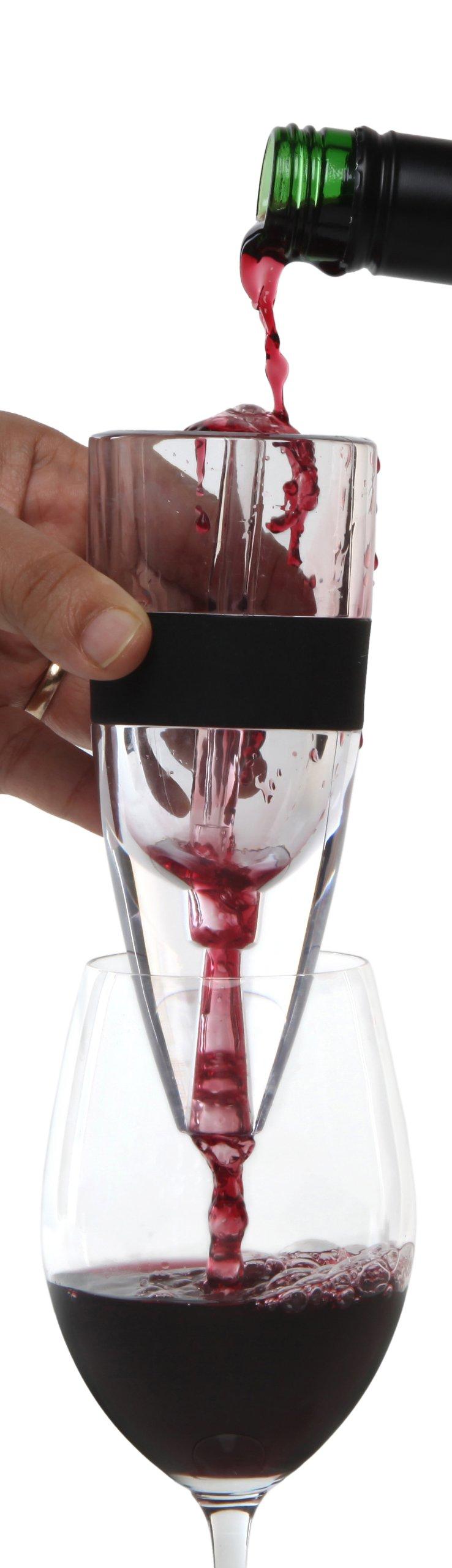 Melange 12-Pack Deluxe Fountain Wine Aerator