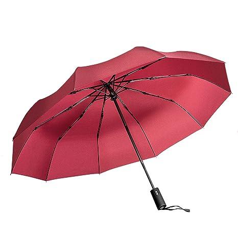 Paraguas de Viaje Vanwalk Paraguas Plegable Automático para Viajar -