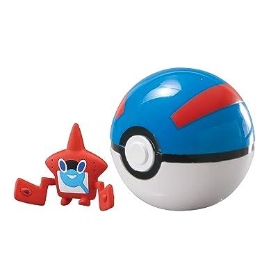Clip 'n' Carry Poké Ball, Rotom Pokédex and Great Ball: Toys & Games
