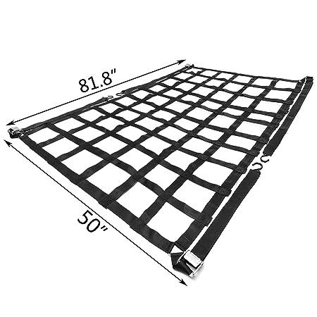 Amazon Com Mophorn Cargo Net 6 8x 4 1 Truck Bed Cargo Net With