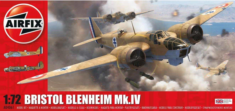 Amazon.com: afx04061 Airfix 1: 72 Bristol Blenheim MK.IV ...