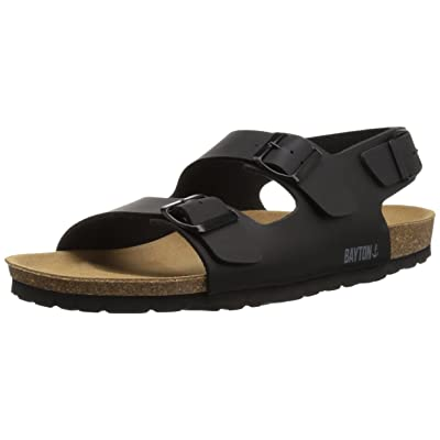 Amazon.com | Bayton Men's ACHILLE Sandal, Black, 41 Medium EU (8 US) | Sandals