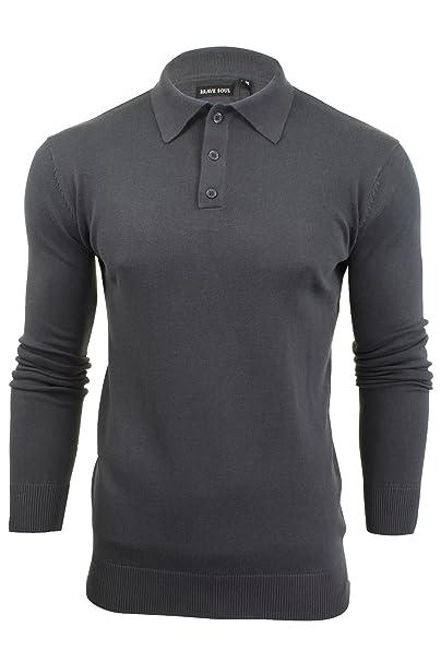 Brave Soul - Polo - camisa - Básico - con botones - para hombre rCgSRtCQ