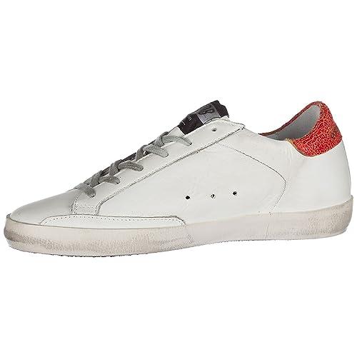 Golden Goose Zapatos Zapatillas de Deporte Mujer EN Piel Nuevo Superstar Blanco EU 40 G32WS590 D90: Amazon.es: Zapatos y complementos