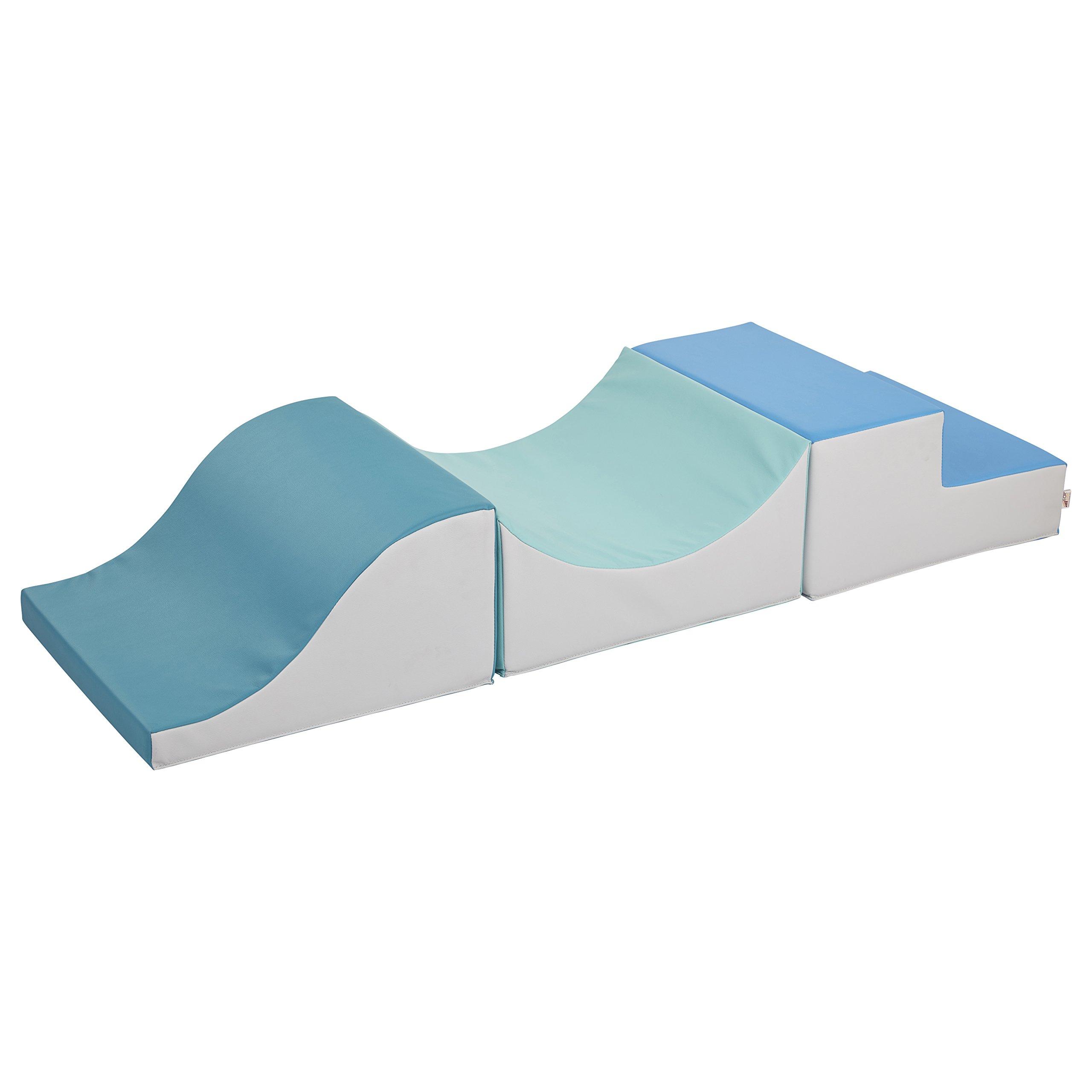 ECR4Kids Softzone Thrill-Scape Play Foam Climber, Contemporary
