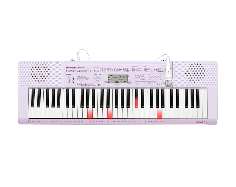 大人気の カシオ 電子キーボード 61標準鍵 LK-115 光ナビゲーションキーボード 61標準鍵 カシオ LK-115 ピンクB008RQAT6O, 菓子工房大江戸:8e52f92c --- a0267596.xsph.ru