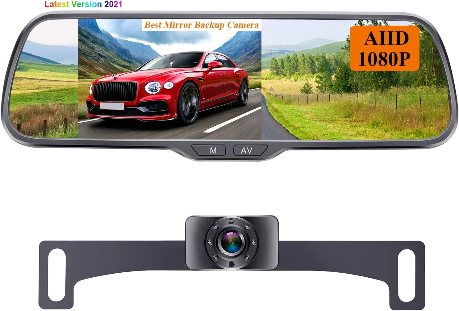 Rohent N01 AHD 1080P Backup Camera with 5