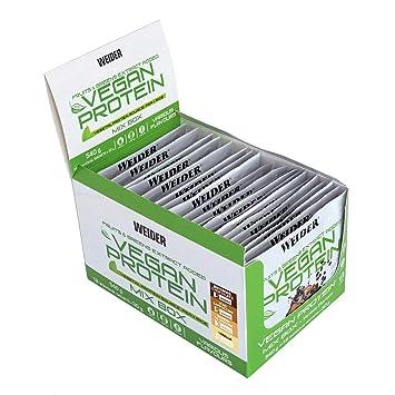 Weider Vegan Protein. Pack multisabor en sobres. Proteína 100 ...
