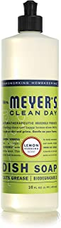 product image for Mrs. Meyer's Clean Day Liquid Dish Soap, Lemon Verbena, 16 ounce bottle