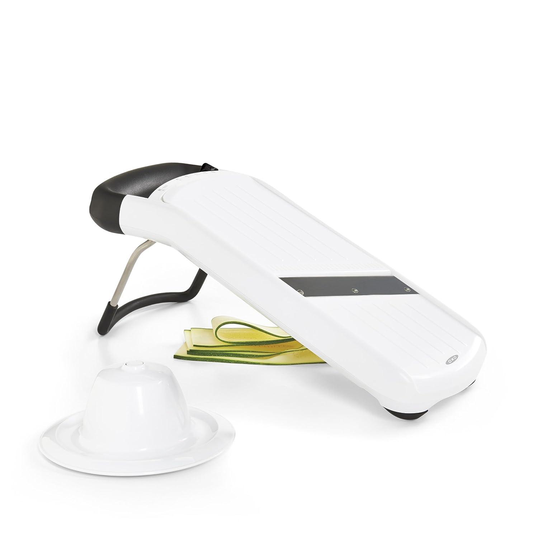 Oxo Good Grips color blanco Cortador y rallador de verduras