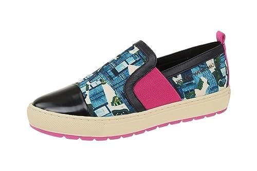 04436f8a4578f DEPORTIVAS GEOX BREEDA MULTICOLOR TELA MUJER  Amazon.es  Zapatos y  complementos