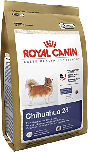 Royal Canin Dry Dog Food, Mini Chihuahua 28 Formula, 10-Pound Bag