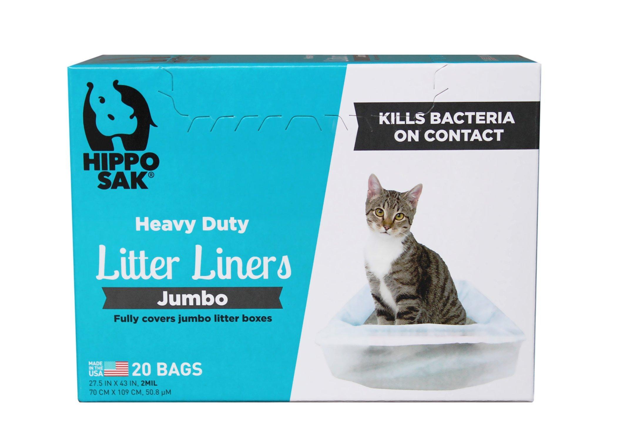Hippo Sak Jumbo Cat Litter Liner
